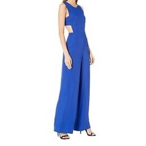 BCBG MaxAzria Royal blue jumpsuit
